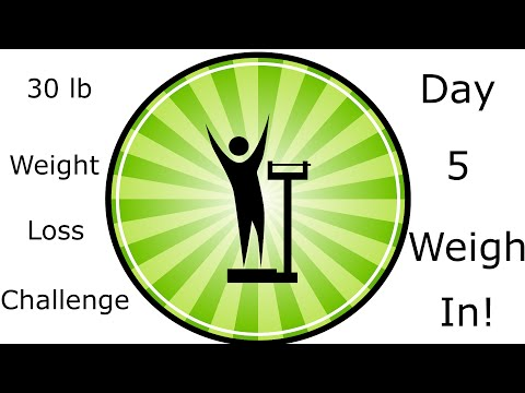 30 lb Weight Loss Challenge from Vegan to Raw Vegan Day 5!