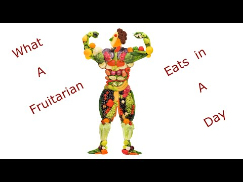 What a Fruitarian or All Raw Vegan Eats in a Day