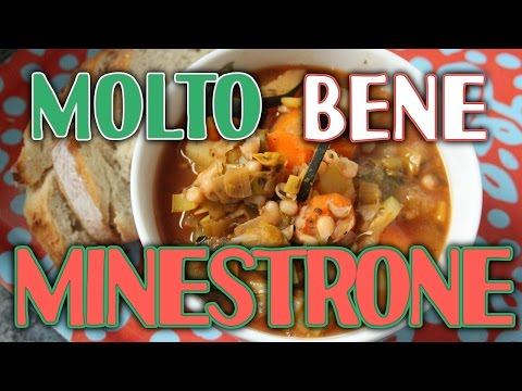 Vegan Guilt Free Minestrone