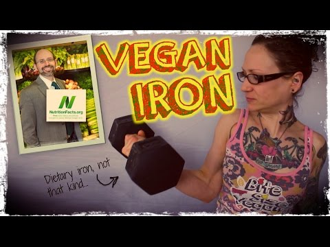Getting Iron On A Vegan Diet | Dr  Michael Greger of Nutritionfacts.org