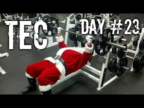 TEC - Work Out with me ! Day 23