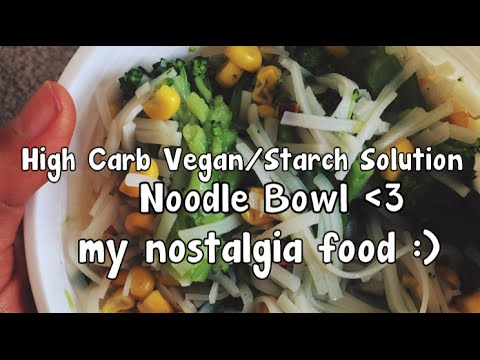 High Carb Snack Time: Trader Joe's Noodle Bowl
