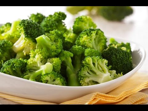 Tastes like steamed broccoli but is raw!
