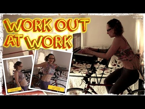 How to Work Out At Work & My Amazing Transformation!