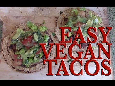 30 DAY VEGAN CHALLENGE- DAY 12- EASY VEGAN TACO RECIPE