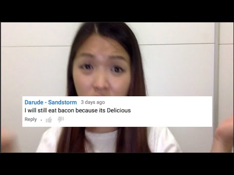 FRUSTRATED VEGAN GIRL REACTS TO STUPID COMMENTS!