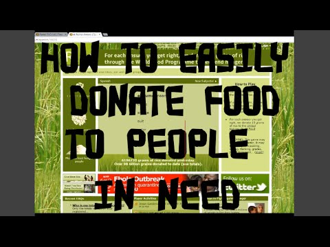 HOW TO EASILY DONATE FOOD IN A FUN WAY | Fruity Adelle