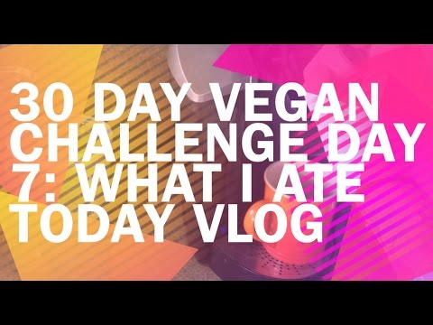 30 DAY VEGAN CHALLENGE DAY 7: WHAT I ATE TODAY