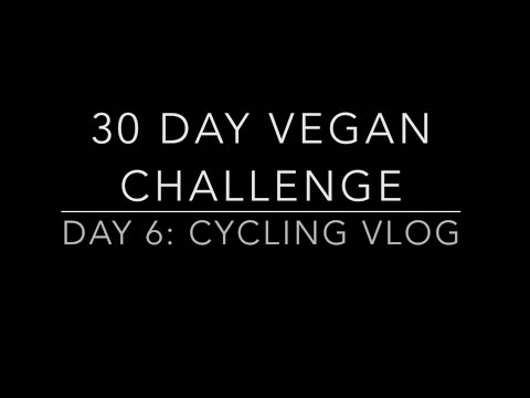 30 DAY VEGAN CHALLENGE DAY 6 VLOG- I'M A NEW CYCLIST