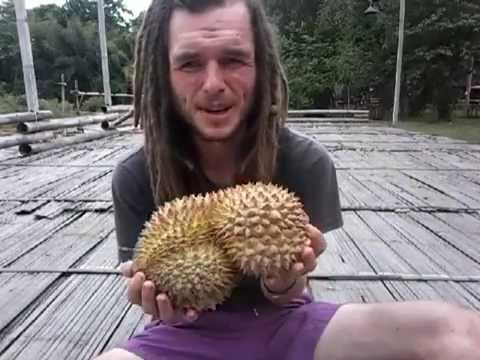 HOW TO PICK A GOOD RIPE DURIAN - HIGH CARB RAW VEGAN FRUITARIAN