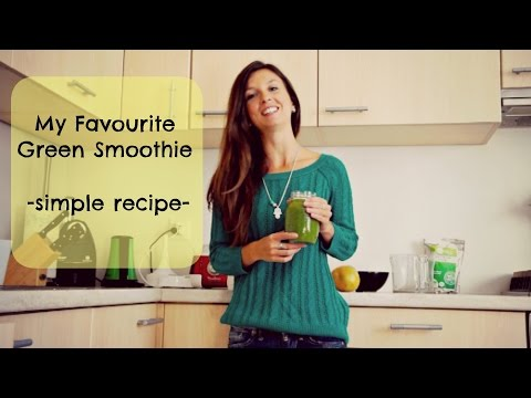 My Favourite Green Smoothie Recipe - Raw Essence