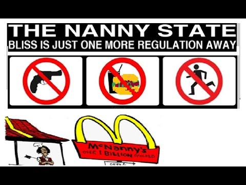 Burger Lobbyiest on CNN warns you of the NANNY state