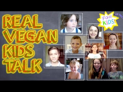 Real VEGAN KIDS Talk About Being Vegan! [A Video For Kids!]