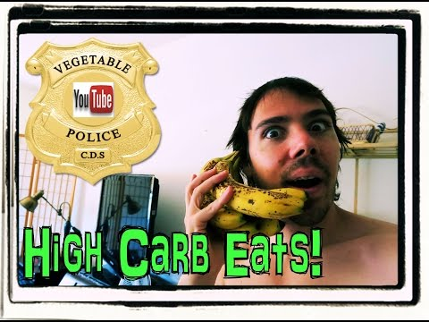 What I ate today.  High carb vegan diet to build muscle!