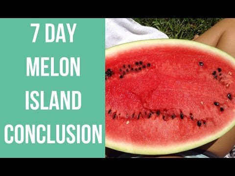7 Day Melon Island Conclusion/Reflections