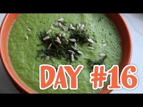 Not another Fruit Diary #16 : Raw Cucumber-Dill-Soup