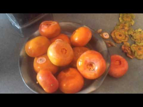 Watch Me Make a Persimmon Date Smoothie/Pudding!