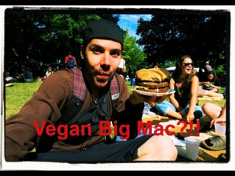 Toronto Vegan Food and Drink Festival 2015 footage