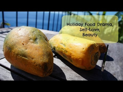 Holiday Food Drama in Madeira, Self-Love, Beauty - Raw Vegan