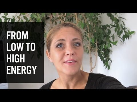 From low to high energy with a high carb low fat raw vegan diet (80/10/10 )