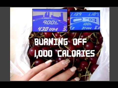 BURNING OFF 1,000 CALORIES ON THE TREADMILL | Fruity Adelle