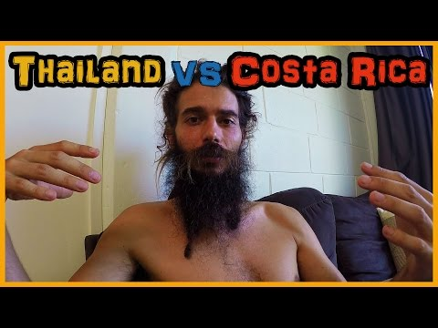 THAILAND VS COSTA RICA: THE RAW VEGAN FRUIT TRAVELERS PERSPECTIVE