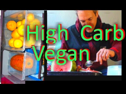 What I eat Wednsdays. - 21 years High carb vegan