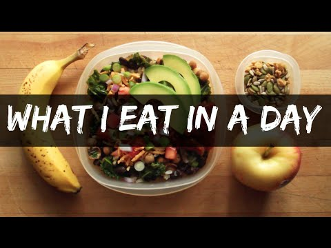 WHAT I EAT IN A DAY (when I need to buy more food)