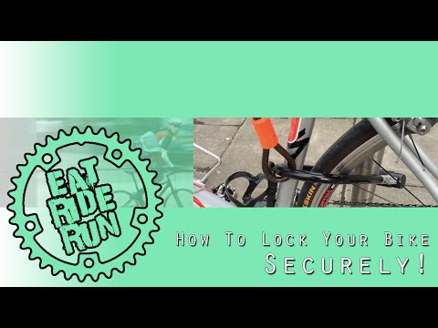 How To Lock Your Bike ... Securely