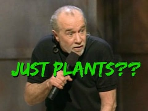 If George Carlin Was A Vegan...