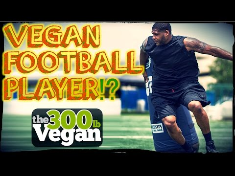 300 lb VEGAN NFL Football Player?! | David Carter Interview