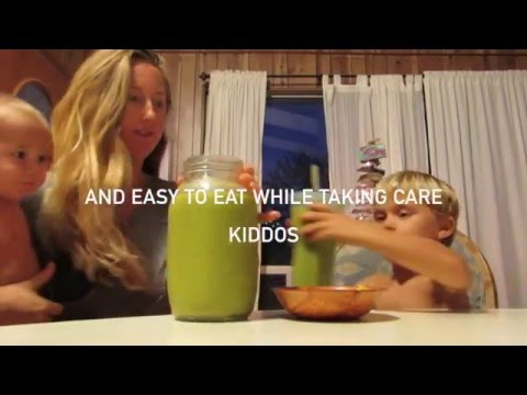 What a breastfeeding raw vegan mom eats in a day - Fruitarian High Carb