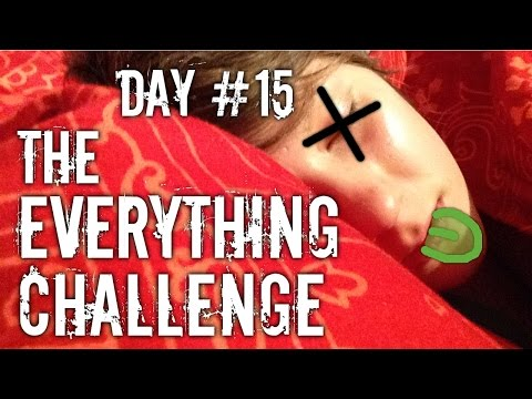 The Everything Challenge - Work Out with me ! Day 15 + One Sick Vegan