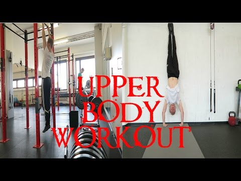Upper Body Movement/Calisthenics Workout for STRENGTH & MOBILITY (Shoulders, Back, Elbows & Wrists)