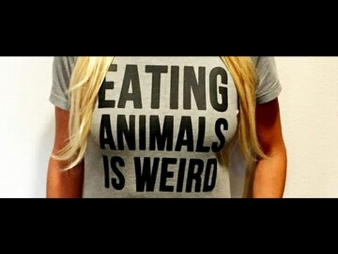 Eating Meat Is Weird