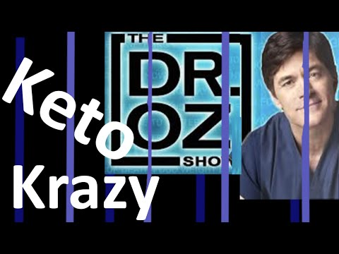 NO-CARB diet:  Dr. Oz gives Keto diet National exposure (Ketogenic is hottest trend)