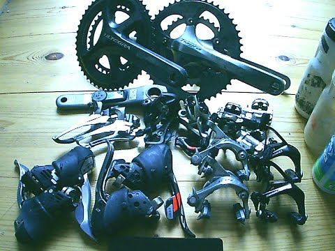 Shimano 105 Tiagra Ultegra vs SRAM Red (weight and review)