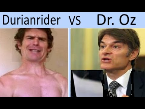 30 Bananas And Cancer -  Dr. Oz vs Durianrider