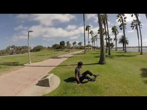 Vegan San Diego Parkour Session