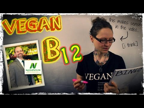 B12 On A Vegan Diet | Dr Michael Greger of Nutritionfacts.org