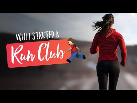 Why I started a running group