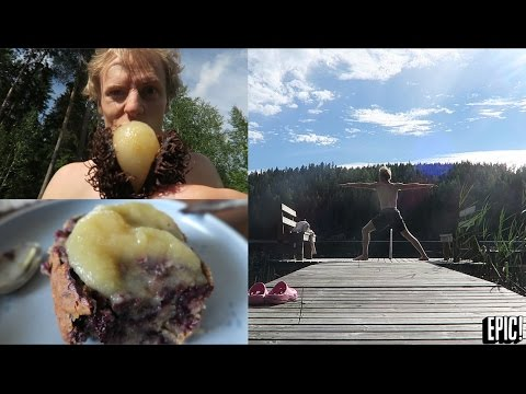 FINNISH SUMMER AT IT'S FINEST ~ What I Ate & Did