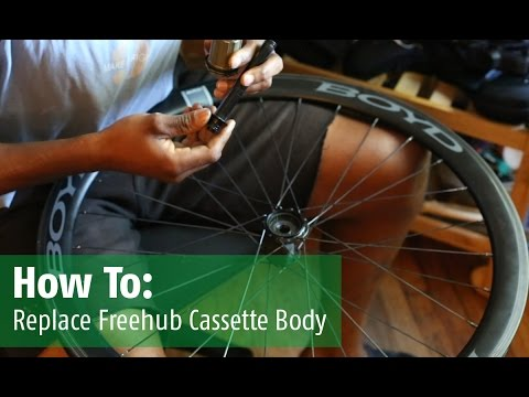 How To - Replace Freehub Cassette Body