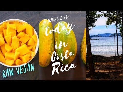 What I ate today in Costa Rica #2 || Raw Vegan