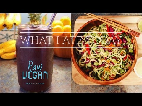 Day 5 || What I eat in a day || Raw vegan