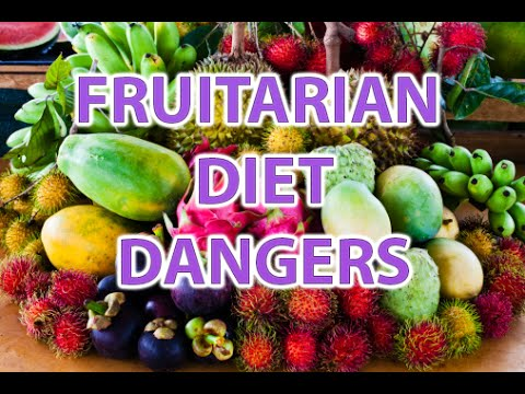 Why Fruitarian diet is dangerous and almost killed me - High Carb Low Fat Raw Vegan