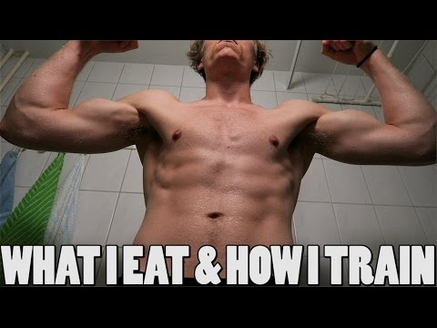 WHAT I EAT IN A DAY & HOW A TRAIN AS A VEGAN ATHLETE (2016)