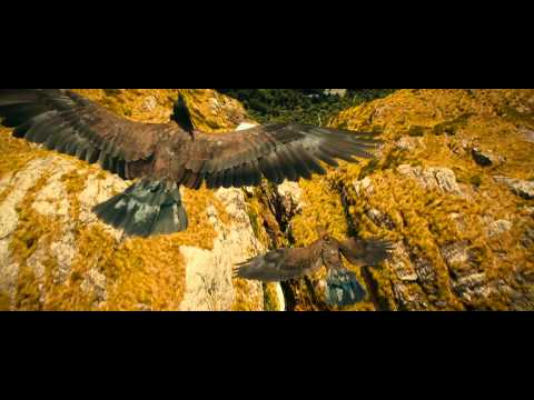The Hobbit - Flight To The Carrock Scene - Full HD