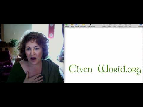 Elven World; Magic and Multi-Dimensional Realities