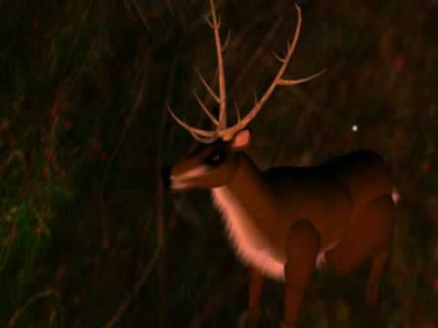 6.Sacred Stag Guardian of the Enchanted Forest